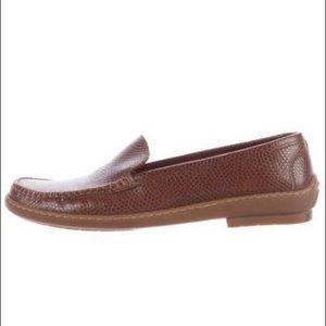Salvatore Ferragamo Round Toe Loafers